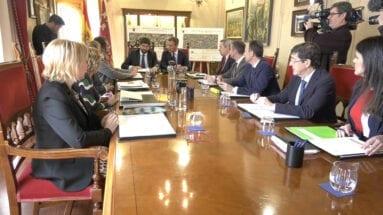 Consejo de Gobierno Regional en Yecla