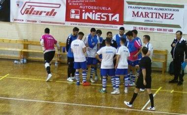 El Club Jumilla FS vuelve a la zona de descenso tras su derrota en casa ante Torrejón