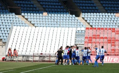 El FC Jumilla se reencuentra con la victoria en el tiempo de añadido