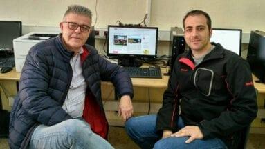 José Antonio Torrés y Gines Pedro Toral, responsables de la web