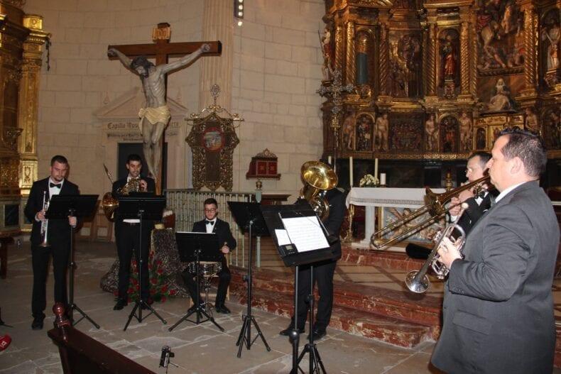 Jumilla Brass Quintet en el VII Concierto de Marchas de Semana Santa