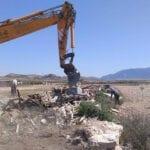 Comienzan los trabajos de limpieza de 15 vertederos ilegales en el término municipal