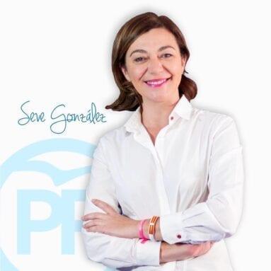 Seve González, Presidenta PP de Jumilla