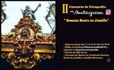 """Ya se han publicado las bases del II Concurso de fotografía en Instagram """"Semana Santa de Jumilla"""" #SsantaJumilla2019"""
