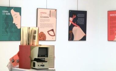 Ya se puede visitar la exposición 'Las chicas somos guerreras y también ingenieras' en el Aula Cultural de Caja Murcia