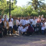 La Asociación de Coros y Danzas Francisco Salzillo celebra en el Paseo el Día Mundial de la Danza