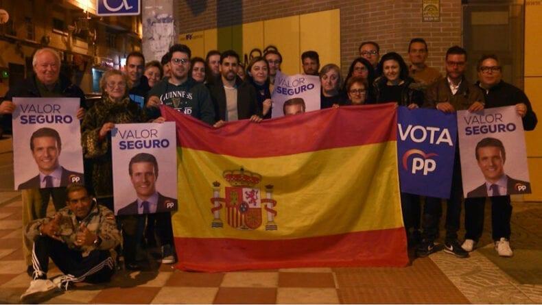 Inicio de la Campaña electoral para el Partido Popular