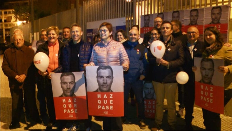 Inicio Campaña Electoral PSOE