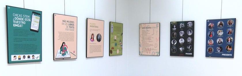 La exposición se puede visitar en el Aula de la Fundación Caja-Murcia