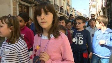 Los niños, los protagonistas del Traslado del Amarrado
