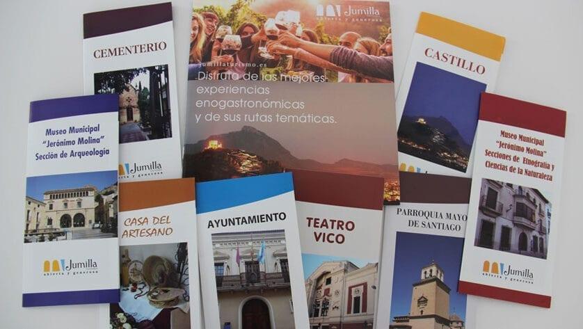 El Ayuntamiento edita nuevo material turístico de Jumilla