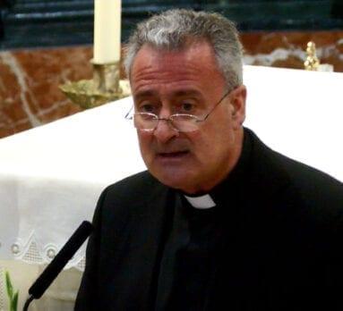 Reverendo José Alberto Cánovas, pregonero Semana Santa 2019