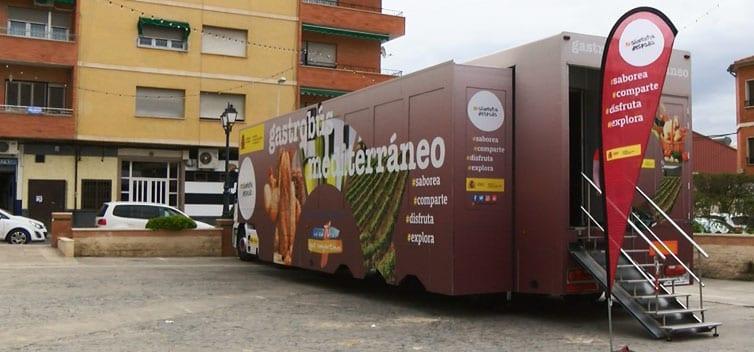 Unidad móvil Gastrobús Mediterráneo