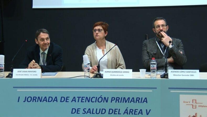 Apertura de la I Jornada de Atención Primaria del Área V de Salud