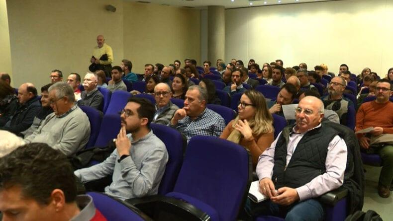 Asistentes a la 28 Jornada de transferencia de resultados del IMIDA y la Universidad de Murcia