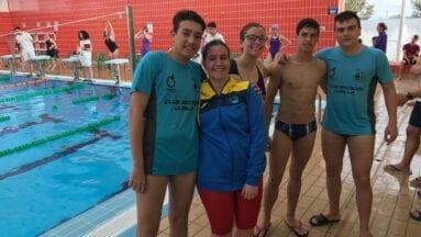 Buena actuación de los infantiles y junior en la sexta jornada de la Liga Regional de natación
