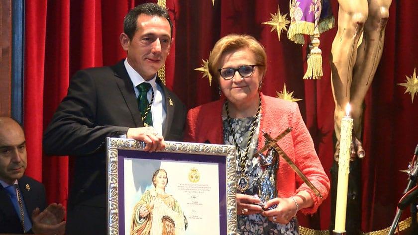 Candelaria Tomás María, Cofrade de Honor 2019