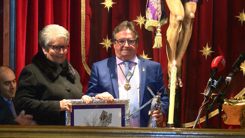 Francisco Tomás Bernal, Cofrade de Honor 2019