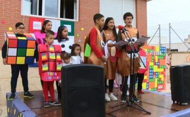 Tres alumnos de Secundaria abren con su pregón la XXVI Semana Cultural del Cruz de Piedra