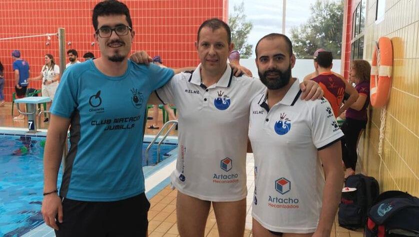 Dos puestos de podio para el Club Natación Jumilla en la Liga Regional