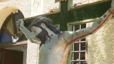 El Cristo de la Sangre presidió la Misa de Hermandad del colectivo de tambores