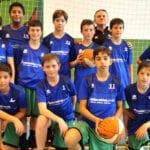 El equipo de Minibasket de la Escuela Municipal de Baloncesto lidera el grupo 6 de la fase final