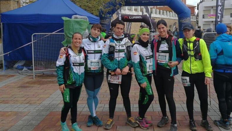 El grupo senderista 'Como Chotas Trail' tuvo una buena participación