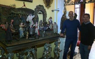 Mariano Spiteri trabaja en la apertura de un Museo del Arte y el Vino