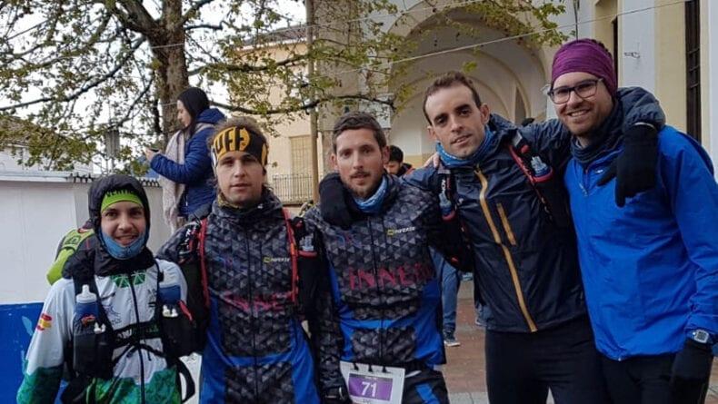 Miembros de Hinneni Trail Running en Yeste
