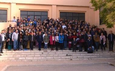 El IES Arzobispo Lozano  acogió una de las fases comarcales de la 30 Olimpiada Matemática