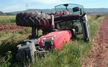 Una pulsera que localice a los agricultores en el campo en caso de accidentes