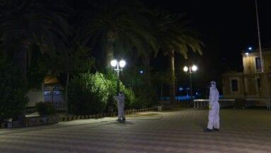 Anoche en el Paseo Poeta Lorenzo Guardiola
