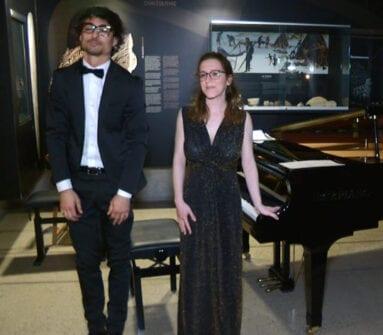 Arturo Ruiz y Naira Perdu, pianistas