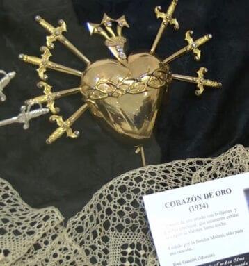 Corazón de oro, Santísima Virgen de la Soledad