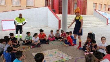 Cucha y la Patrulla Selectiva en el colegio Carmen Conde