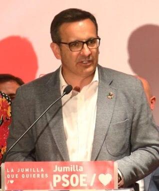 Diego Conesa, candidato a la presidiencia de la Región de Murcia