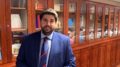 Fernando López Miras, presidente Región de Murcia