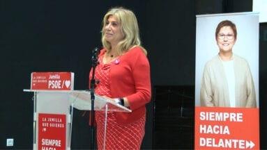 Gloria Alarcón, candidata a la Asamblea Regional por el PSOE