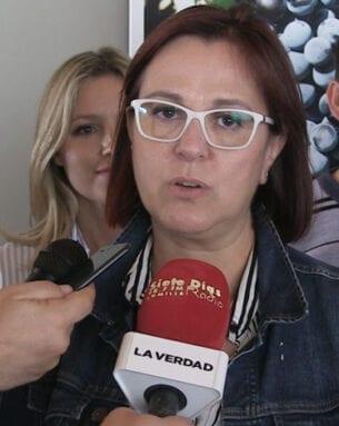 Isabel Franco, candidata a la presidencia de la Comunidad Autónoma