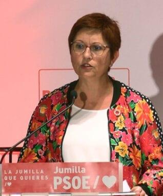 Juana Guardiola, candidata a la Alcaldía de Jumilla