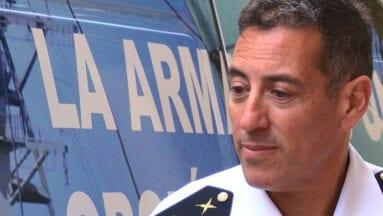 Norberto Martín, Brigada de la Armada
