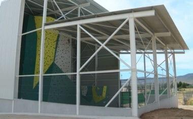 Finalizada la construcción del rocódromo de Jumilla