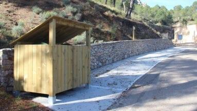 Un muro de contención evitará posibles desprendimientos en Santa Ana la Vieja