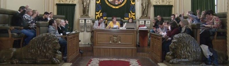 Votación unánime de todos los concejales