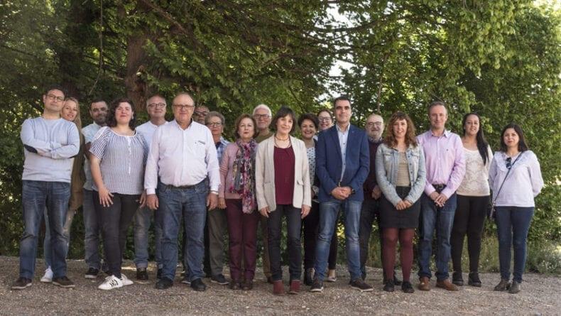 Candidatura completa de Izquierda Unida Verdes Jumilla para las municipales del 26 de mayo