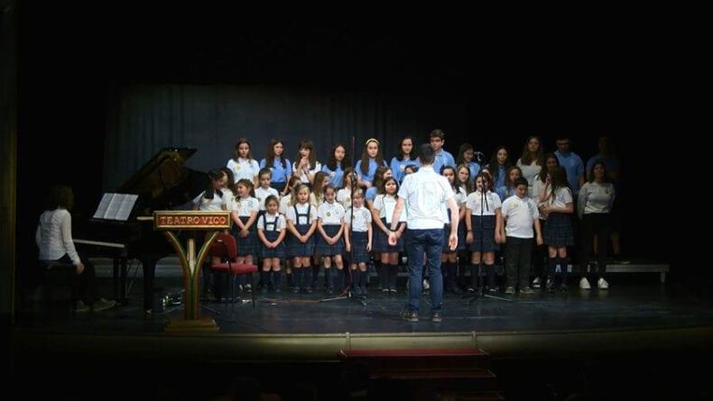 Coro escolar del Centro Concertado La Inmaculada de Yecla