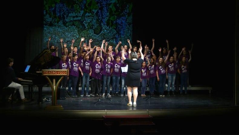Coro escolar del Colegio Carmen Conde de Jumilla