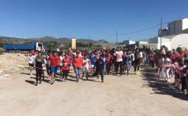 Más de 600 escolares participan en la carrera solidaria del colegio Nuestra Señora de la Asunción