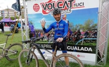 Jesús Guardia estuvo representando al Club Jumilla BTT en la Volcat 2019