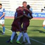 El FC Jumilla salva el descenso directo matemáticamente al ganar en San Fernando